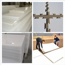 UV Resistant Roller Skating Floor Polyethylene UHMW-PE Synthetic Ice Rink Panel with the best price