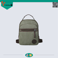 latest arrival multifunctional outdoor leisure canvas schook backpack nice design
