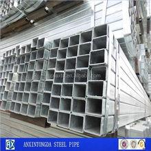 high pressure slip on flange galvanized rectangular pipe