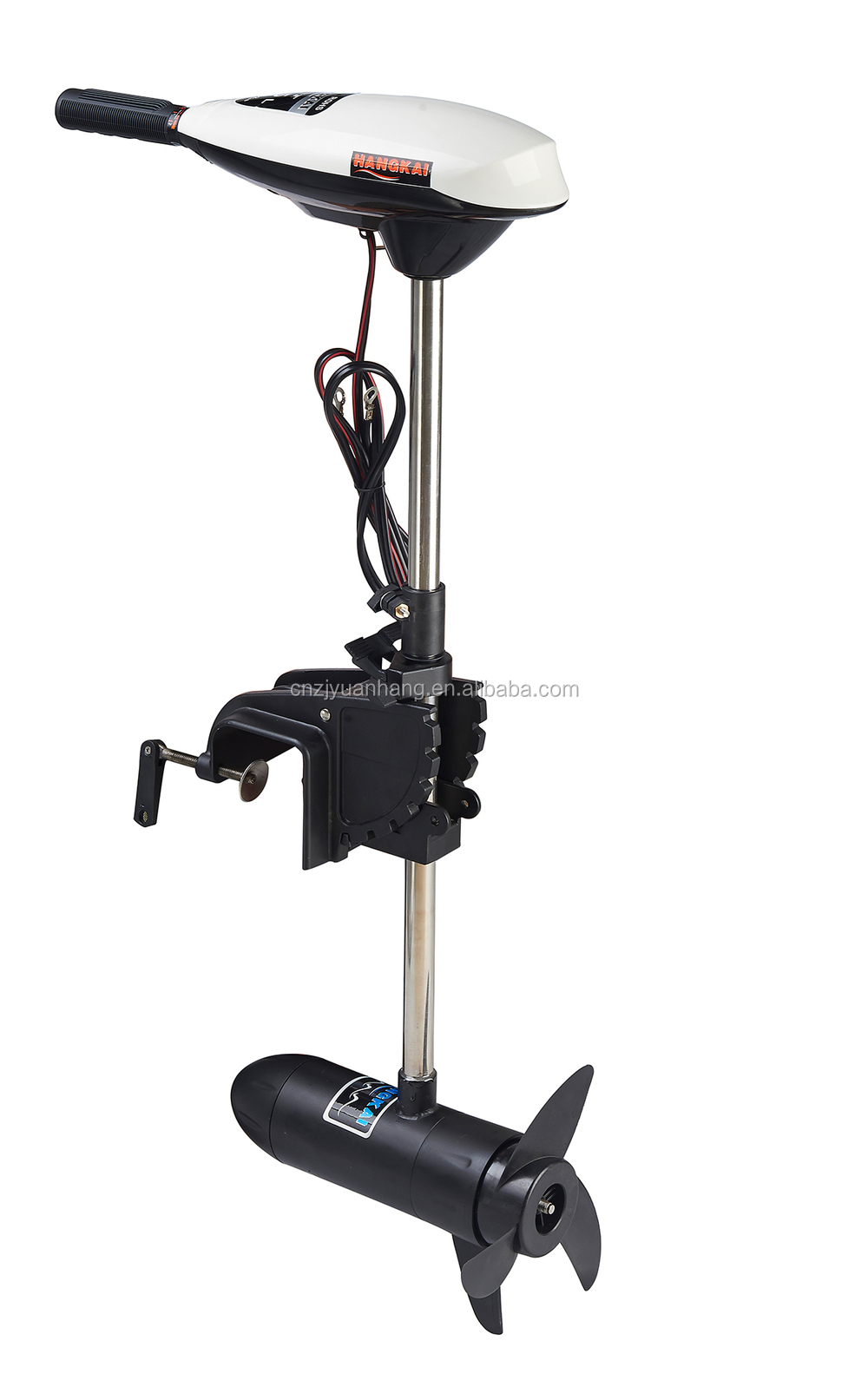 New marine 65lbs thrust 12v electric trolling motor for Electric trolling motor accessories