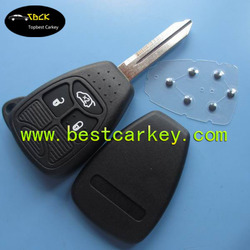 Best price 2 buttons remote car key blanks for chrysler key key blanks wholesale