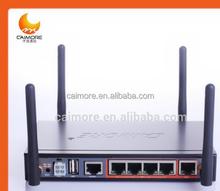 wireless 3g wifi modem applicated in bus wifi with dual sim card slot 1WAN 4 Lan