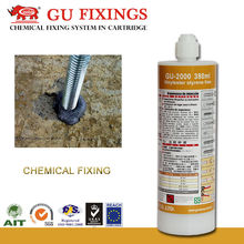 Expansion joints concrete chemical anchor styrene free