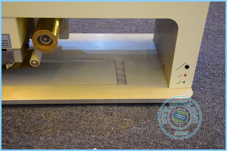 High precision mini automatic 57mmX170mm portable hot stamping machine