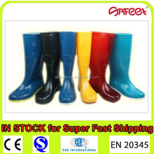 Factory Cheap PVC Rain Boots, Wellington Rain Boots for SA-9806