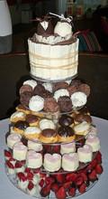 Custom Modern Design 5 Tier Acrylic Cake Stand, Acrylic Cake Stand Plates