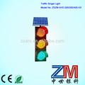 un grado de calidad solar traffic light