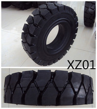 Forklift solid tyres, Pneumatic solid tyre, solid resilient tyres XZ01