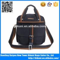 Wholesale portable leisure style shoulder holster bag tote bag for men