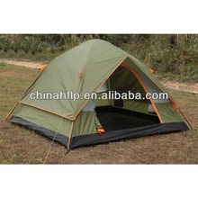 Folded leading outdoor car parking tent