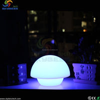 Colorfule Small led color changing flash Plastic Table lamp