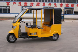 Bajaj style gas & oil powered tricycle for passenger for African market ( TRI-13)