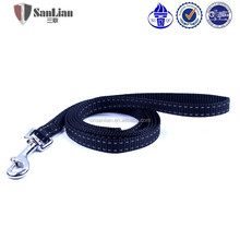 Wholesale Retractable black nylon Dog Leash dog lead
