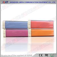 2200mah colorful slim tablet pc power pack