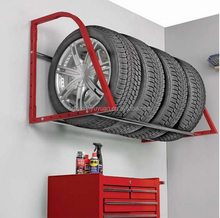 Folding Auto car truck Tire Wall Mounted Shelving Storage tire tyre Rack