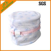 Cylindrical mesh bra laundry soft bag with custom printing