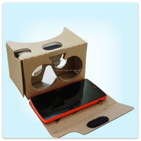 DIY google cardboard glassed V2.0,for 3d games, 3d movies