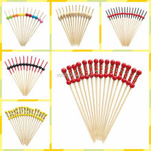 high quality wooden decorative skewer stick pick bulk packing
