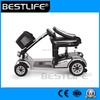 2 seat hot sell four wheeled folding mobility scooter