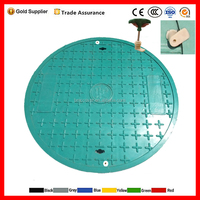 Standard manhole cover with lock as customized EN124 B125