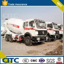 CITC T5 BFBZ diagram of concrete cement mixer truck tri-axle type
