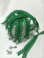 Chenhe zipper factory fancy lace or decorative zipper pulls
