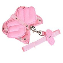 Soft Mesh Cute Wings Dog Harness Clothes Dog Cat Vest Harness Leash Pet Supplies
