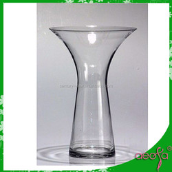 table decoration flower glass cruet vase