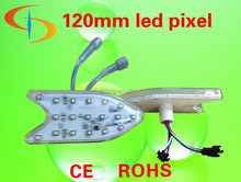 Programmable DC24V 18pcs smd 5050 rgb led pixel point light