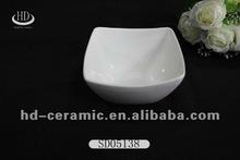 direct sales white porcelain sauce bowl