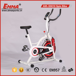 Indoor cycling bike exercise bike with computer