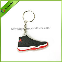 2014 Soft-pvc Air Jordan Shoes Sneaker Shaped Keychain