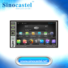OEM ANDROID 4.4.4 2 DIN CAR HEAD UNIT FOR UNIVERSAL WITH 7 INCH TOUCH SCREEN, 4 CORE,1.6GHZ ROM, BLUETOOTH, GPS, IPHONE AIRPLAY