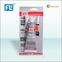 3 OZ acetic RTV silicone gasket maker grey color quick dry silicone sealant