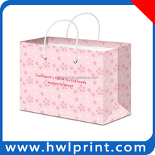 Full Color Logo Flower Printing Sublimation Foldable Shopping Bag
