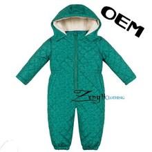 Customized winter cotton baby romper set