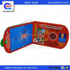 Trade Assurance WAP-health reusable CPR training card with one-way valve mask