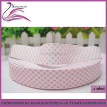custom 3cm printed diamond pattern decorative polyester satin ribbon