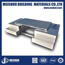 Aluminum brick wall expansion joint in building materials