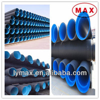 HDPE double wall corrugated drainage pipe sdr11