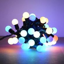 Popular waterproofmulti function fairy light string 100p LED warm cool white RGB twinkle light string pendant ceiling chandelie