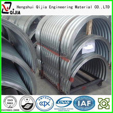 corrugated metal pipe with steel structural plate construction material export China supplier in alibaba