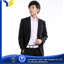 breathable new style polyester/cotton 2012 new arrival business casual linen mens suits