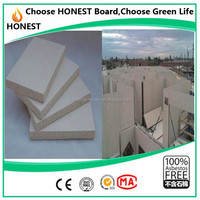 Green health decorative wall panels substitute of asbestos board fireproof insulation mgo board 10mm