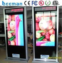 theaters advertising displayer Leeman P1.5 SMD lcd advertising player andriod
