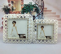 Sweet love photo frame for family / couple metal frame photos small size cheap photo frame baby picture frame home decor