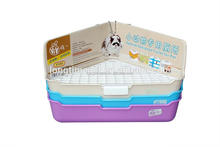 Superior plastic pet's restroom/rabbit toilet bowl with a layer for wholesale