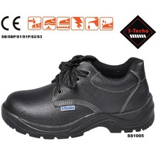 Executive safety shoes steel toe and conform to EN345 CE, applying for oil and gas industry