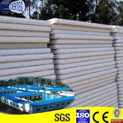 Lightweight thermal insulation composite fiber cement eps sandwich panel price competitive