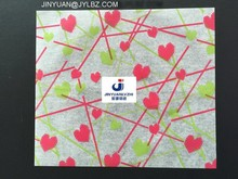 printed wax coating water proof laminated paper